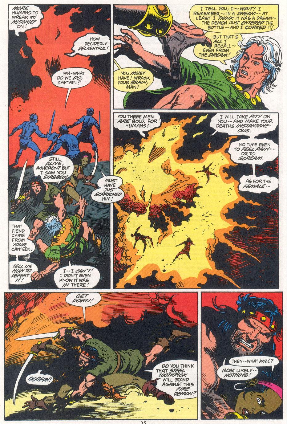 Conan the Barbarian (1970) Issue #270 #282 - English 19