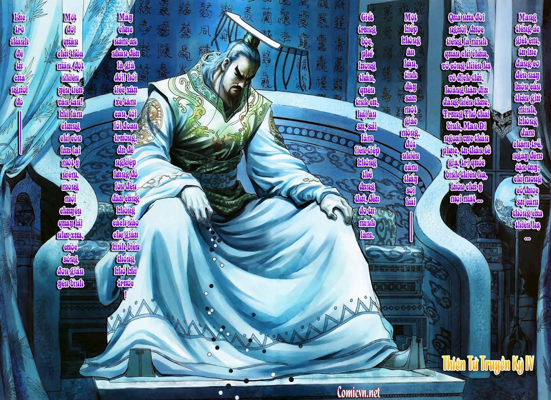 Thiên Tử Truyền Kỳ 4 – Đại Đường Uy Long chap 102 Trang 32