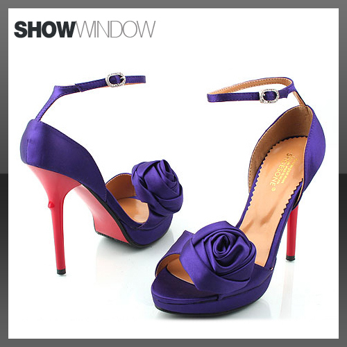 Wedding Lady PRETTY PURPLE WEDDING SHOES