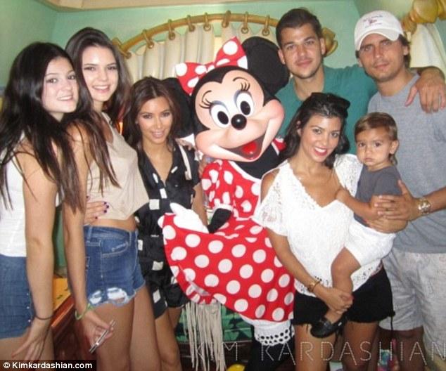 snest inside the kardashian family album kim shares happy snaps