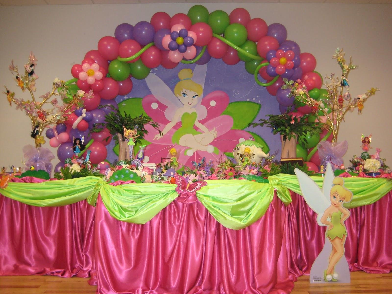 decoracion tinkerbell para fiestas infantiles parte
