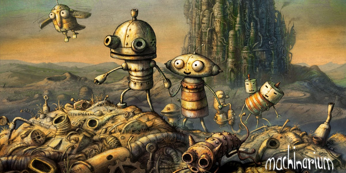 Machinarium Tips Tricks & Solution With Screen Shots