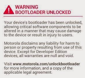 Cara membuka Bootloader Moto X dan Moto G