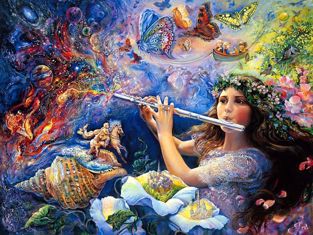 josephine wall fantasy painting nature