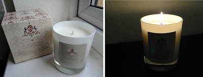 Crystal Spring Natural Empathy fig & Patchouli candle, vegan candle, strong fragrance candle