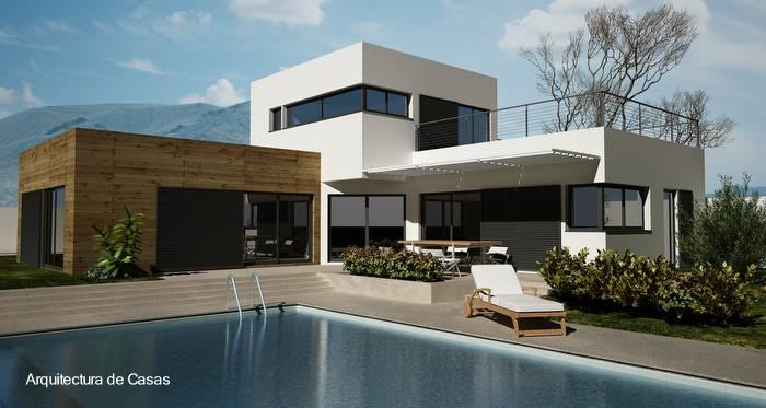 Arquitectura de casas las viviendas prefabricadas for Estilos de casas modernas
