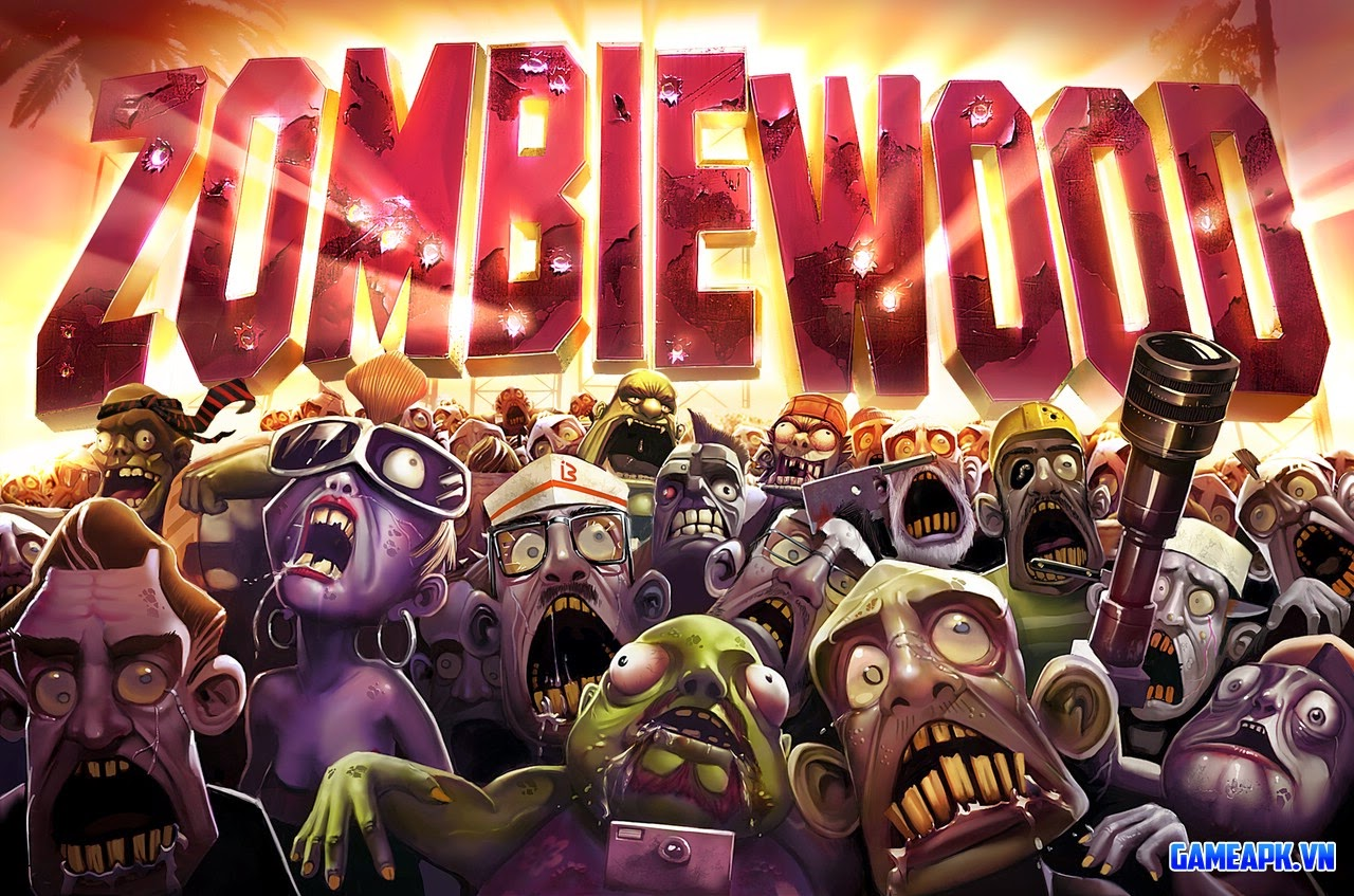 Zombiewood – Zombies in L.A! v1.5.0 Full Mod cho Android