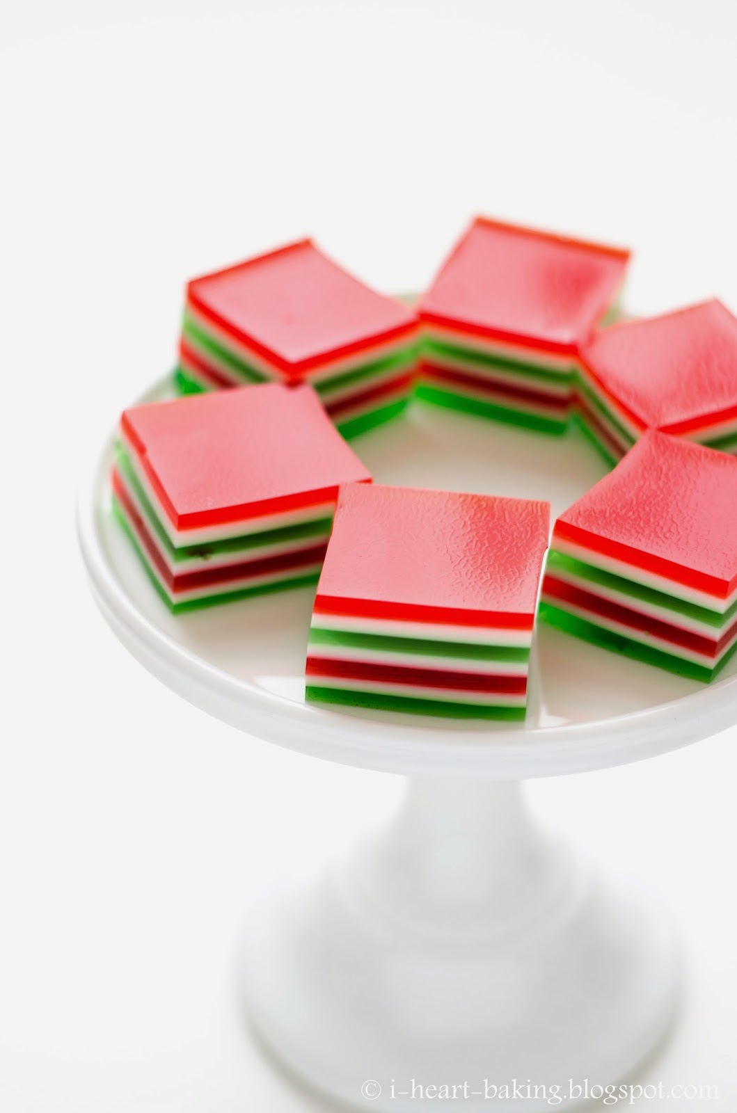 finger christmas finger jello christmas jello 7 layer finger jello ...