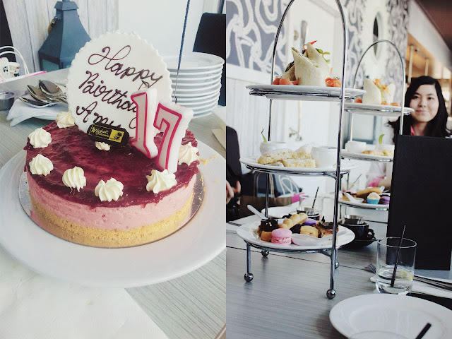 strawberry cheesecake, seventeen, desserts, high tea, pastries