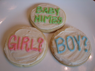 Gender Neutral Baby Shower Cookies Adventures of D and V