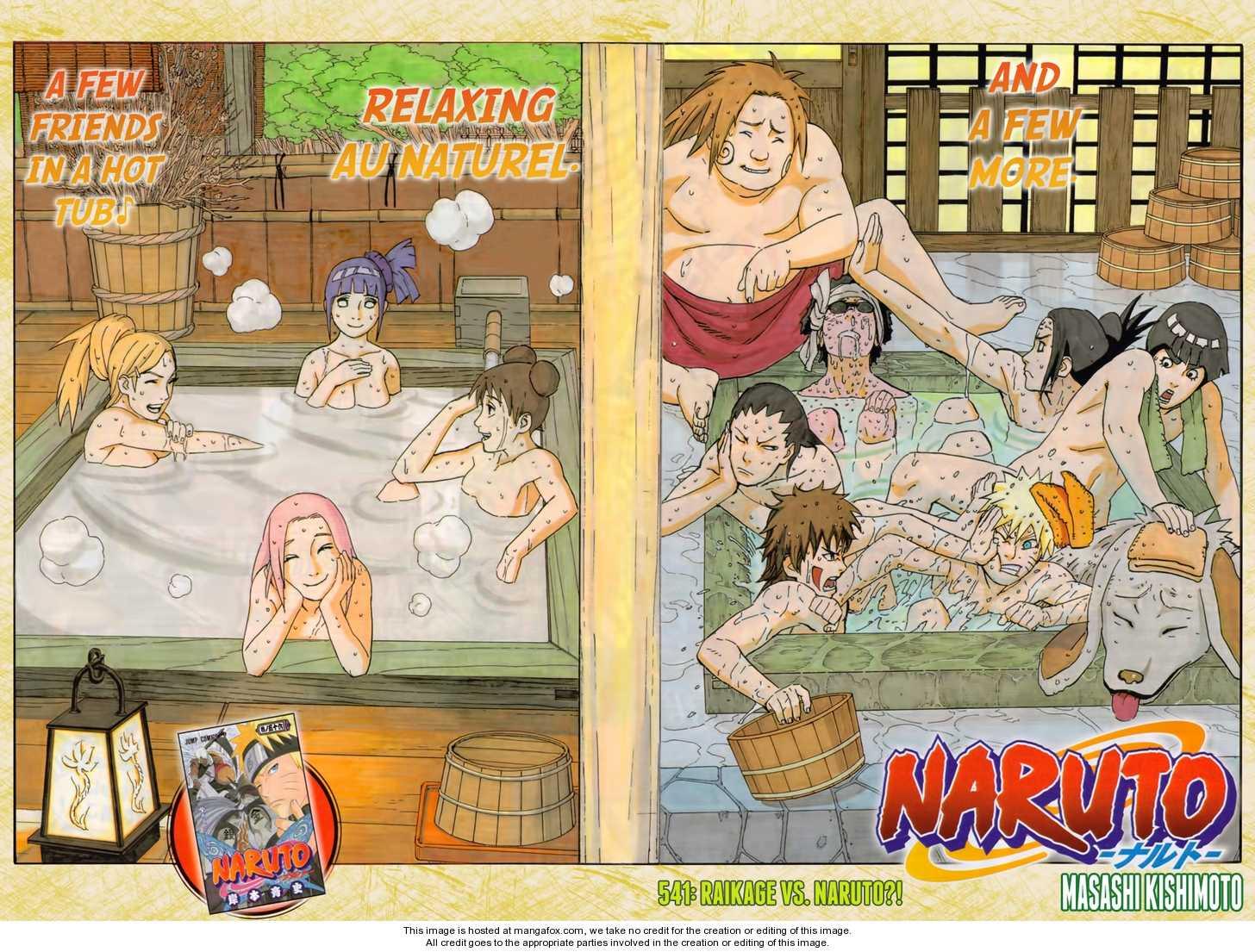 541 Chakra Wujudnya Naruto Berhasil Mengendalikan Kyubipikir Tsunade