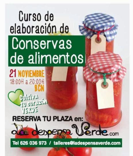 CURSO DE ELABORACION DE CONSERVAS NATURALES