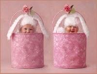 Feliz Páscoa com Bebezinhos fofos
