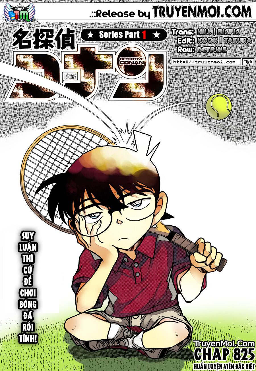 Detective Conan - Thám Tử Lừng Danh Conan chap 825 page 17 - IZTruyenTranh.com