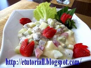 Resep Bikin Salad Anggur Merah Hijau
