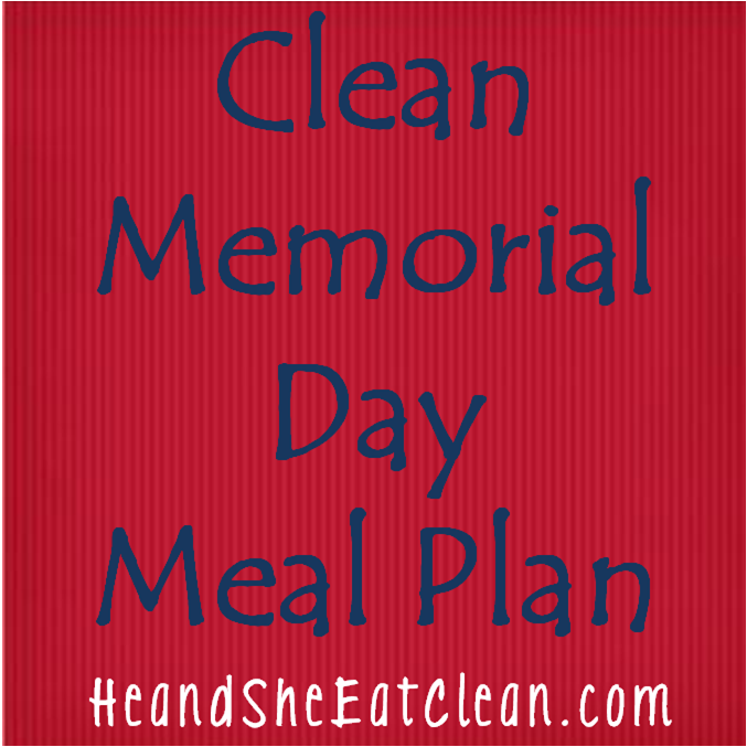 memorial day menus template