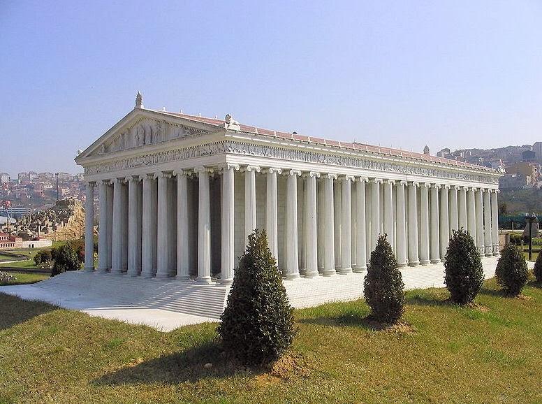 Volution de l 39 architecture occidentale antiquit grecque for Architecture grec