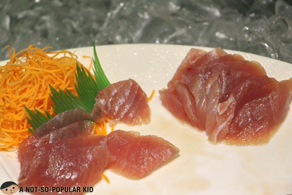 Maguro (Tuna) Sashimi of The Buffet
