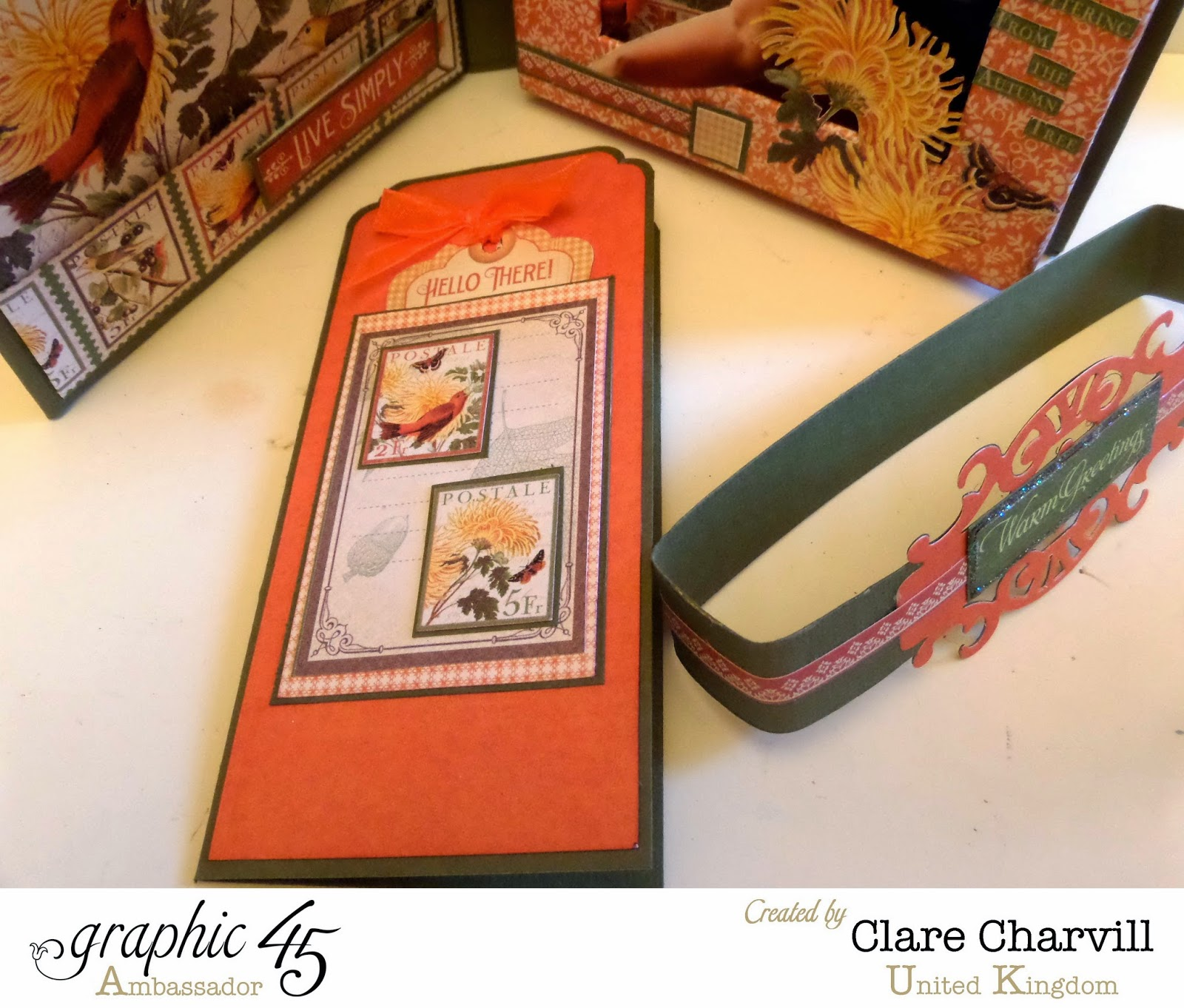 Time To Flourish Photo Box 4 Clare Charvill Graphic 45