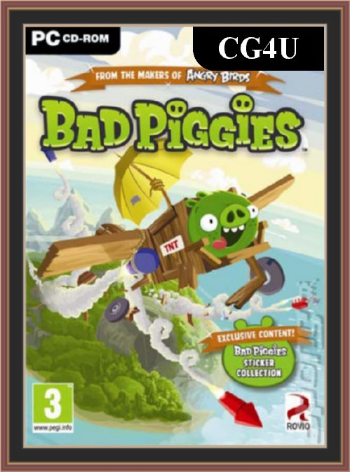 Bad Piggies Cover | Bad Piggies Poster