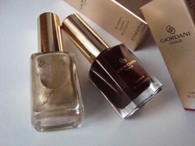 Oriflame - Lakiery do paznokci GIORDANI GOLD