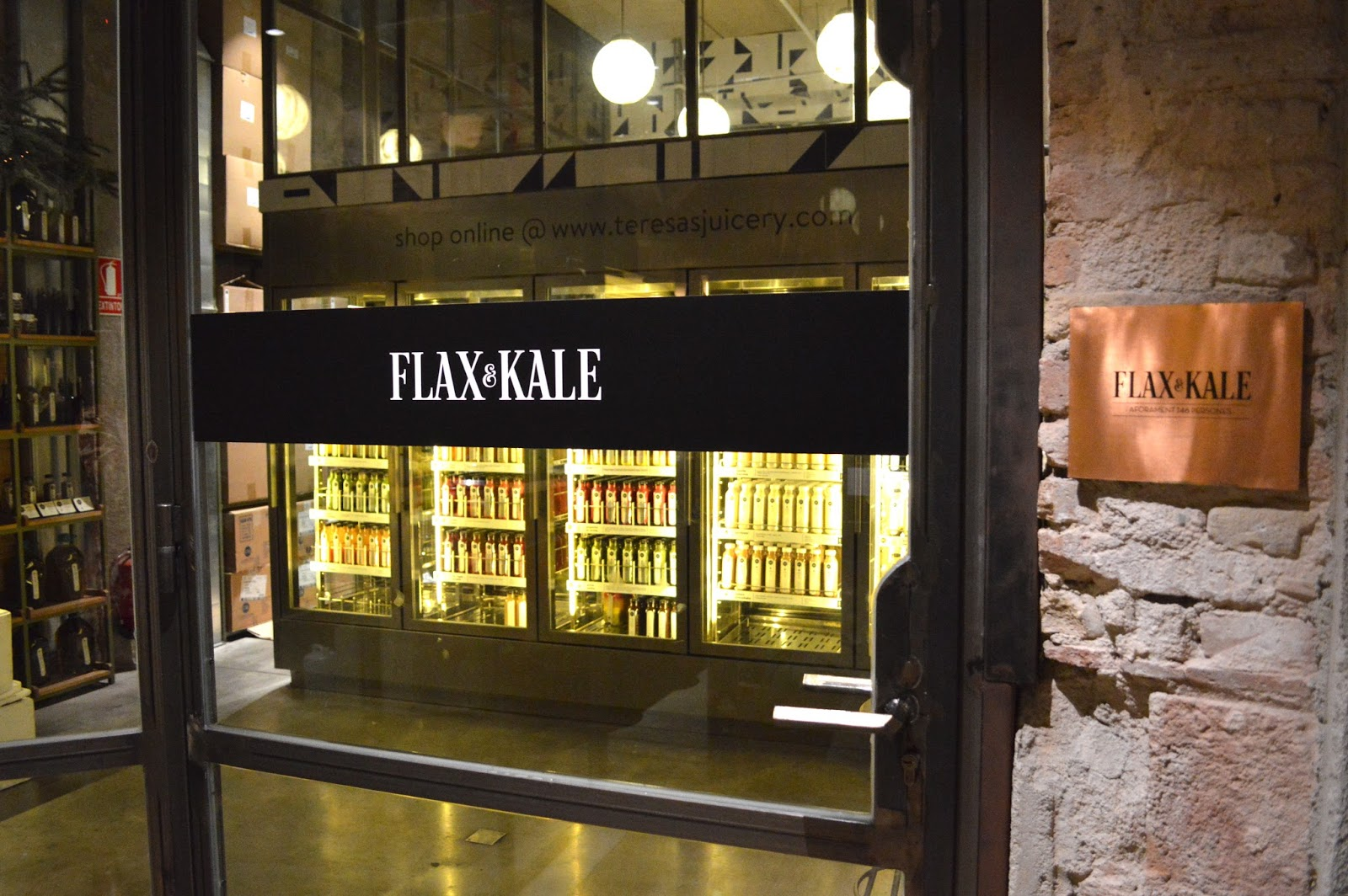 Flax and Kale restaurant review Barcelona
