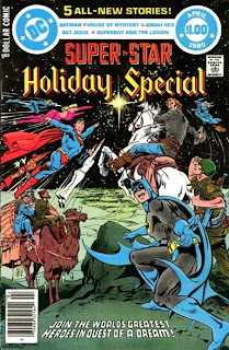 Cover of DC Super Star Holiday Special from DC Comics