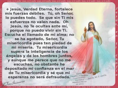 oracion a jesus verdad eterna