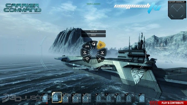 Carrier Command Gaea Mission Xbox 360 Español NTSC Descargar 2012