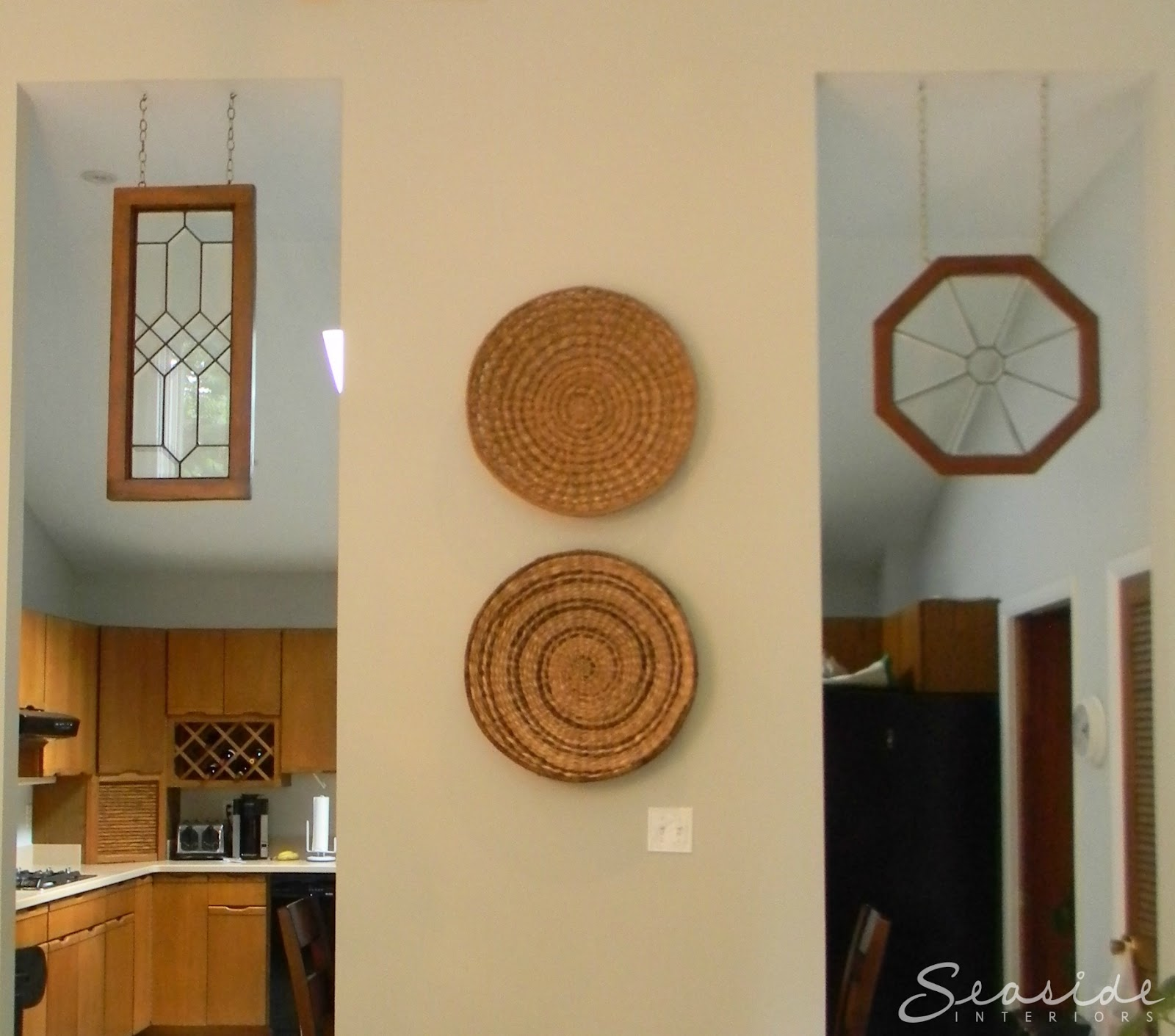 Seaside Interiors: Dining Room Design Makeover using the CB2 Firefly ...