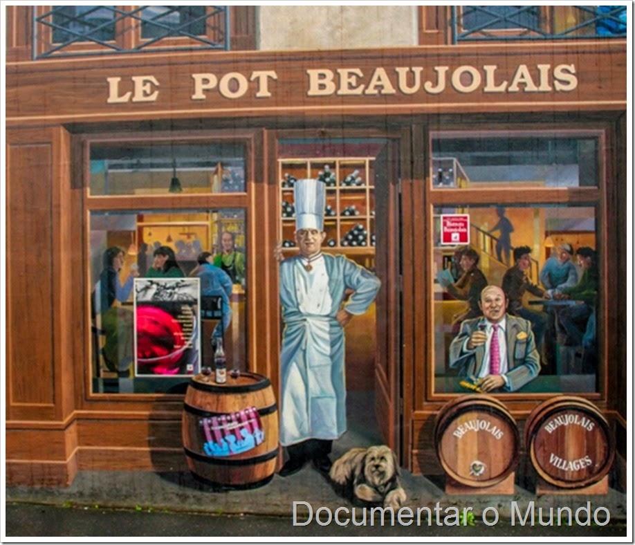 La fresque des Lyonnais; Fachadas pintadas de Lyon