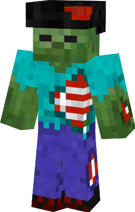 Minecraft custom maps and skins my skins - Zombie style minecraft ...