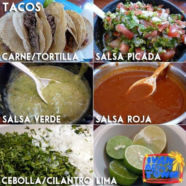 Mexican Taco: Tacqueria El Paisa I, Queretaro, Mexico
