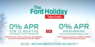 The Ford Holiday Sales Event now at Gresham Ford