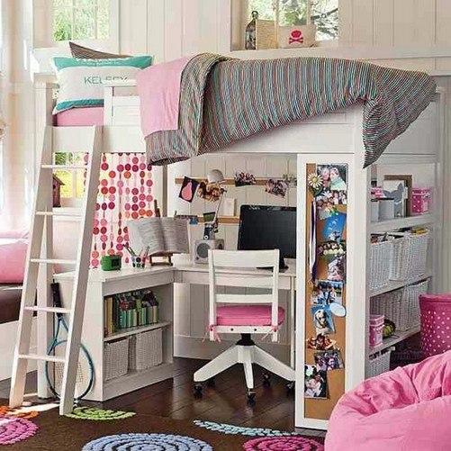 Como decorar tu cuarto para adolescentes imagui - Como decorar un loft ...