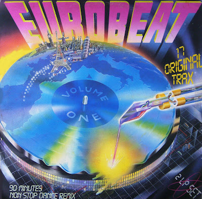 EUROBEAT - Volume 1 (90 Minute Non-Stop Dance Remix) (2LP Set) 1986 Various Artists Hi-NRG Italo Disco 80's NEW IMPROVED BETTER QUALITY VERSION!