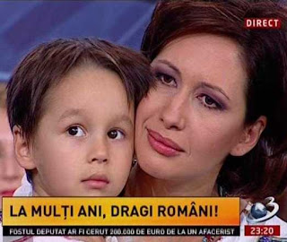 Mihaela Barzila Antena 3 costum popular