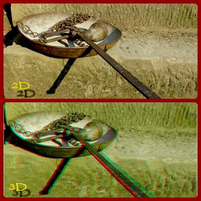 2D i 3D -  fotografije za poredjenje