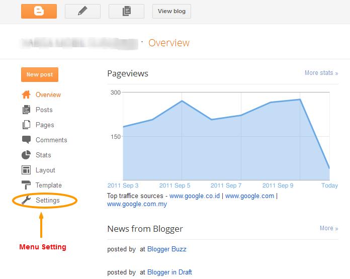 Cara Memaksimalkan SEO dengan Setting Blogspot