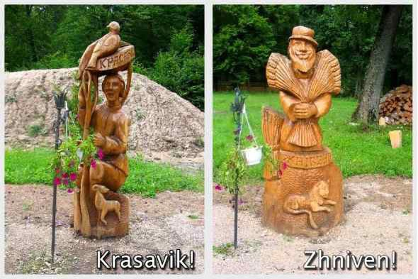 Wooden_Months_Statues_in_Belarus