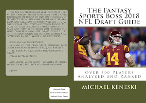 ORDER THE FANTASY SPORTS BOSS 2018 NFL DRAFT GUIDE JUST $18.99