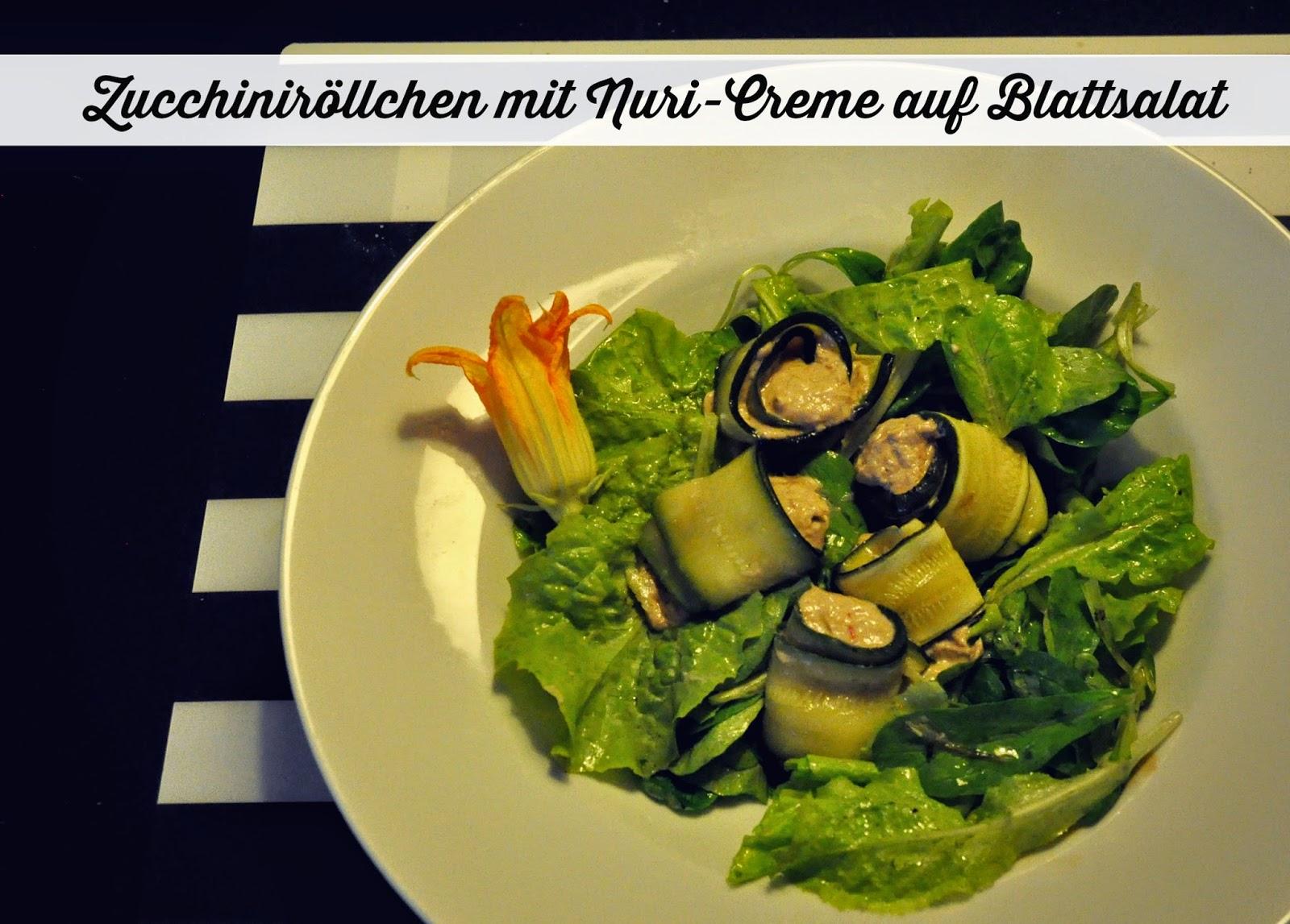 low carb zucchinir llchen mit nuri creme gewinnspiel superzisch. Black Bedroom Furniture Sets. Home Design Ideas