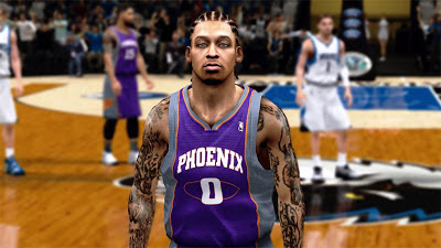 NBA 2K13 Michael Beasley Cyberface Mod