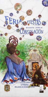 Utrera - Feria 2015 - Rafaela Salmerón