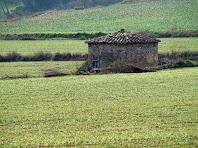 Aproximació a la sínia de Les Oliveres situada en mig dels camps