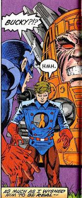 Captain America 441 Bucky