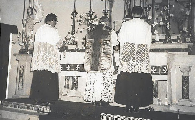 La Santa Misa diaria.