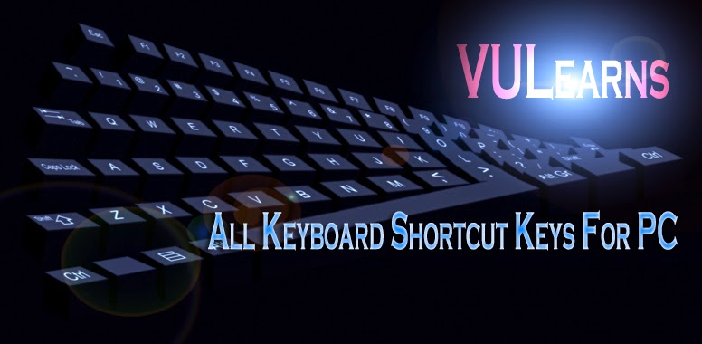 All Keyboard Shortcut Keys for PC