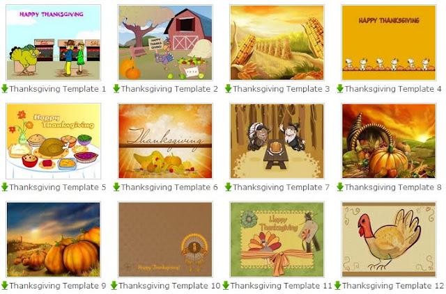 Free thanksgiving templates