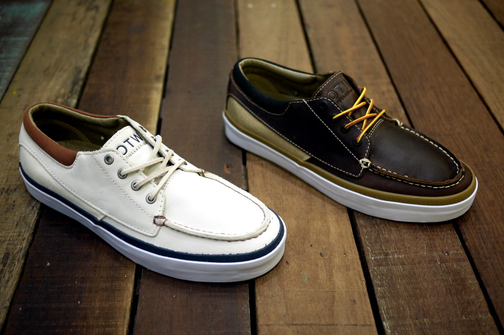 The Cobern modernizes the classic boat shoe by infusing vans sneaker  elements into the design. Featuring a moc toe and buttery materials 593d29f0a